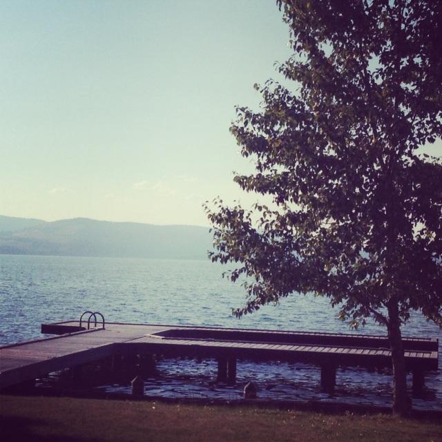 Afternoon on Flathead Lake