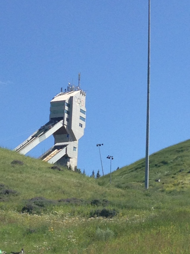 The Olympic Tower.