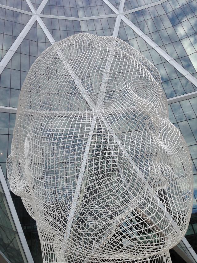 "Calgary City Art ""Wonderland"" Jaume Plensa"