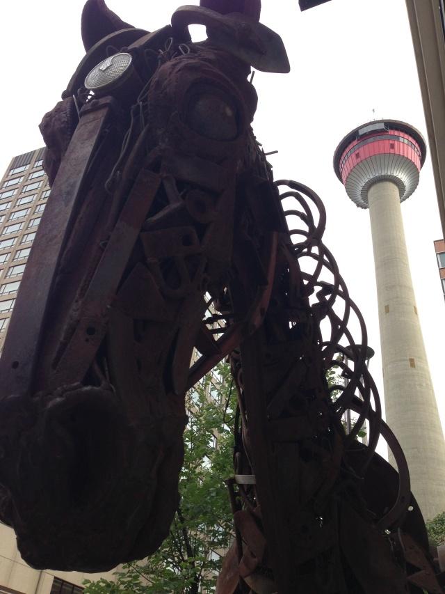 Calgary Art & Calgary Tower