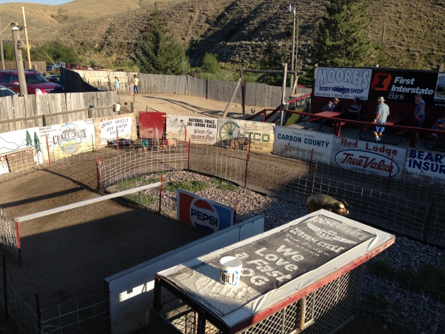 Red Lodge Pig Race Track