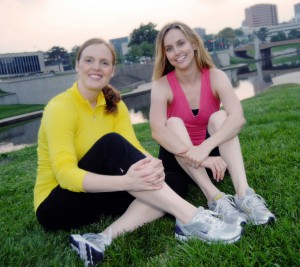 Co-Founders of Fit Bottomed Girls Jennifer Walters & Erin Whitehead