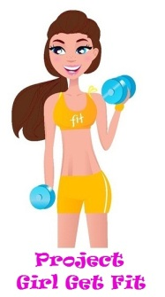 Project Girl Get Fit Sticker