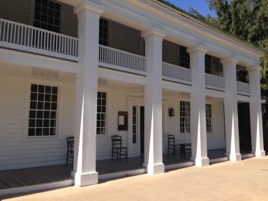 Original building: Eagle Tavern