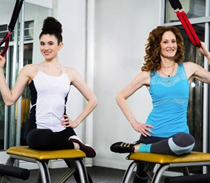 Co-Founders Rachel and Lauren Piskin. Image taken from ChaiseFitness.com