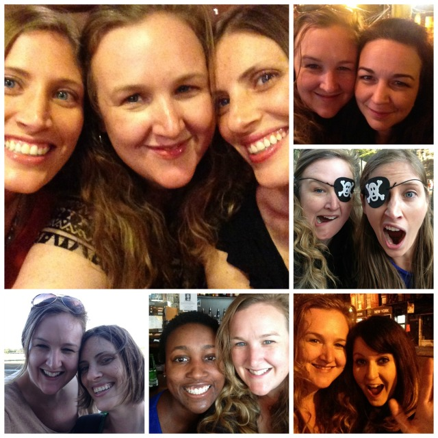 NYC Collage Friends 1