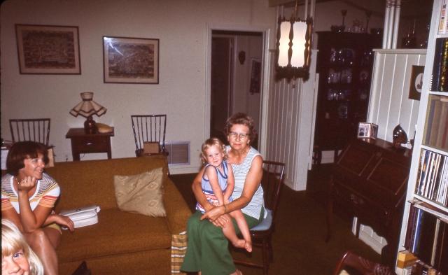 Mom and Grandma and Sarah