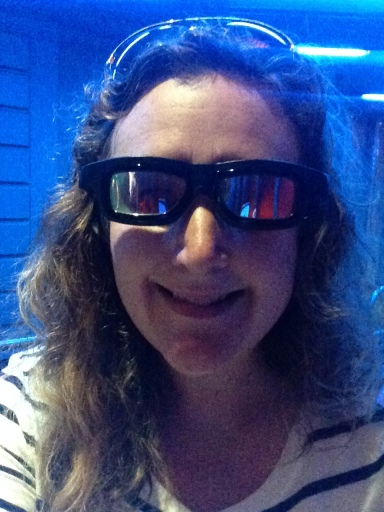 Captain Eo! Not my best look!