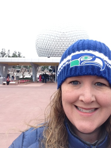 Freezing Day at Epcot