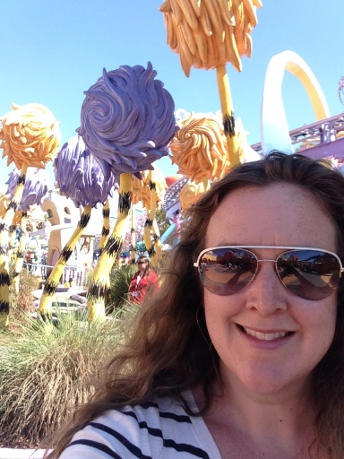 Selfie in Seuss Landing
