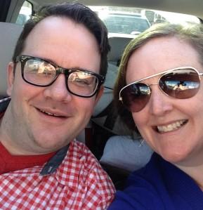 Matt & Me Selfie!!