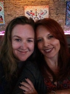 Erin Searcy & Me in San Antonio