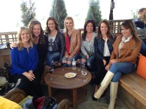 Becky Walton/Jeanette Devy, Shanda Shumpert/Tara Ortiz/Kim Ortiz/Patti Savoy - Woodinville Wine Tasting